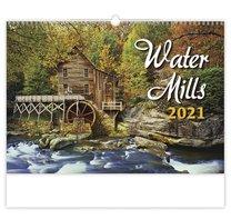 nástěnný kalednář WATER MILLS