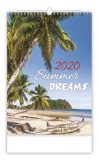 Nástěnný kalendář- Summer Dreams