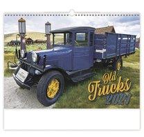 Nástěnný kalednář Retro Cars