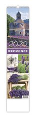 Nástěnný kalendář kravata - Provence