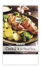 Nástěnný kalendář - Česká kuchařka