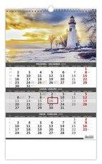 Nástěnný kalendář tříměsíční - Pobřeží