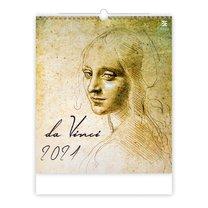 nástěnný kalednář leonardo da Vinci