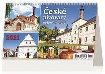Stolní kalendář - České pivovary nejen na kole