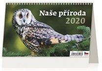 Stolní kalendář - Naše příroda