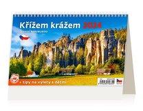 Stolní kalendář - Křížem krážem Českou republikou