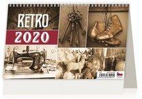 Stolní kalendář - Retro
