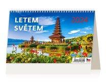 Stolní kalendář - Na houbách
