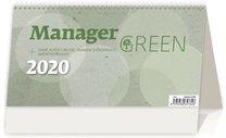 Stolní kalendář - Manager Green