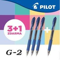 gelový roller G2 Pilot 0,7mm / 3+1 ZDARMA